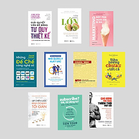 Combo 10 cuốn sách để quản trị cuộc đời