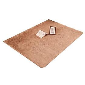 Thảm lông xù trải sàn 1m6x2m