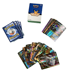 Bộ Thẻ Bài Pokemon 60 Thẻ (20Ex+20Gx+20Mega) Chơi Đối Kháng New Đẹp