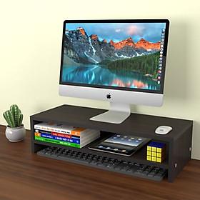 Kệ đỡ màn hình máy tính 2 tầng MS 07 lắp ghép