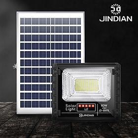 [MẪU MỚI] Đèn Năng Lượng Mặt Trời 60W JINDIAN JD8860L- Hàng Chính Hãng có Logo JINDIAN