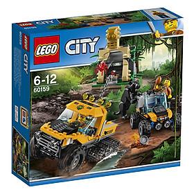 Mô Hình Lego City - Biệt Đội Thám Hiểm Rừng 60159 (378 Mảnh Ghép)
