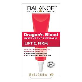 Kem Trị Thâm Mắt Balance Active Formula Dragons Blood Eye Lift Balm (15ml)