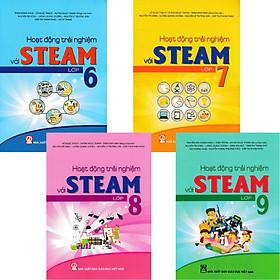 Combo 4 Quyển Hoạt Động Trải Nghiệm Với STEAM Lớp 6-7-8-9