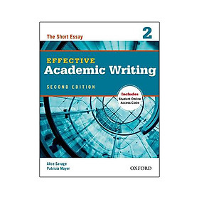 Effective Academic Writing 2 Student Book with Access to Oxford Learn 2Ed