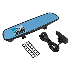 2.7 Inch HD 1080P LCD Car Vehicle Rearview Mirror DVR Dash Cam Video Recorder