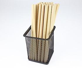 Hình đại diện sản phẩm Combo 5 bút chì gỗ trơn an toàn môi trường - Hàng VNXK