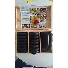 Bộ đá nóng massage Bazan 29 Viên Madala