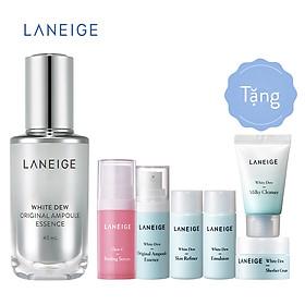 Bộ Dưỡng Trắng Và Làm Sáng Da Laneige + Tinh Chất Dưỡng Trắng Laneige White Dew Original Ampoule Essence (40ml)
