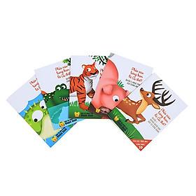 Combo 5 cuốn sách Ekidar 3D Ehon Phía sau lưng bạn là ai thế?