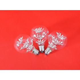Bộ 3 bóng đèn led trang trí hình G80, đèn trang trí độc đáo hàng chính hãng
