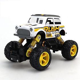 Đồ chơi xe địa hình chạy cót KAVY bằng kim loại nguyên khối, chi tiết sắc sảo