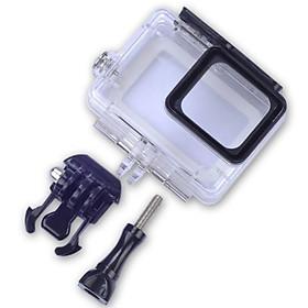 Hộp case cho Gopro hero 8 bảo vệ chống nước lên đến 30m có nút bấm - phụ kiện camera hành động