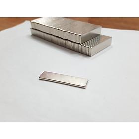 Nam châm viên trắng đất hiếm 40x10x2mm (Combo 20 viên)
