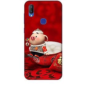 Hình đại diện sản phẩm Ốp lưng dành cho điện thoại VIVO V11i Heo Ăn Kẹo