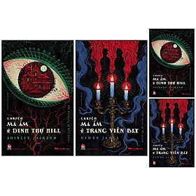 Combo 2 Cuốn: Chuyện Ma Ám Ở Dinh Thự Hill - The Haunting Of Hill House + Chuyện Ma Ám Ở Trang Viên Bly - The Turn Of The Screw [Tặng Kèm Postcard]