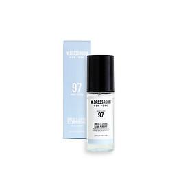 Nước hoa xịt khử mùi xe ô tô W Dressroom NO.97 mùi hoa tháng Tư loại 70ml