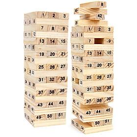 Bộ đồ chơi rút gỗ WISS TOY 54 thanh