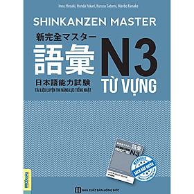 Tài Liệu Luyện Thi Năng Lực Tiếng Nhật N3 - Từ Vựng (Tặng Thẻ Flashcard Học Từ Vựng Kanji) (Học Kèm App: MCBooks Application)