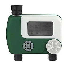 New dual interface watering timer watering device smart large screen digital display timer watering irrigation tool