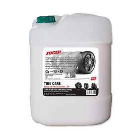 Dung dịch dưỡng ĐEN BÓNG LỐP xe FOCAR Tire Care FC145020 can 20L