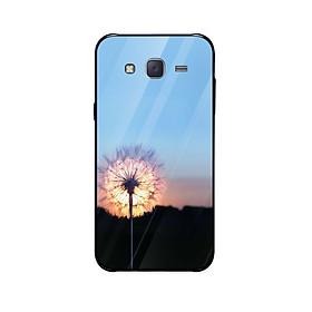 Ốp lưng dành cho điện thoại Samsung Galaxy J5, J6, J7, J8 in họa tiết Hoa bồ công anh trước hoàng hôn