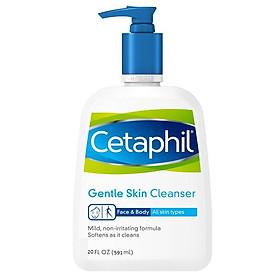 Sữa Rửa Mặt Cetaphil Gentle Skin Cleanser 591 ML nhập Costco USA