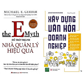 Combo 2 Cuốn: The Emyth - Để Trở Thành Nhà Quản Lý Hiệu Quả + Xây Dựng Văn Hóa Doanh Nghiệp