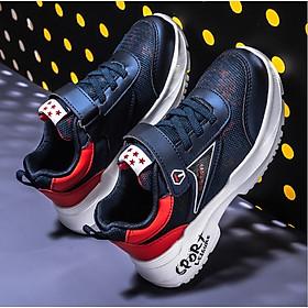 Giày thể thao thơm bé trai cao cấp 4 - 14 tuổi siêu nhẹ chống hôi chân - TT93