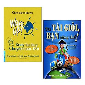 Combo 2 cuốn sách tư duy - kĩ năng sống làm thay đổi cuộc đời bạn: Xoay Tư Duy Chuyển Cuộc Đời + Tôi Tài Giỏi - Bạn Cũng Thế/ Bộ 2 cuốn sách giúp bạn thức tỉnh bộ não, lối suy nghĩ làm việc cũ
