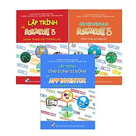 Combo 3 sách lập trình dành cho học sinh từ 10 tuổi đến 16 tuổi