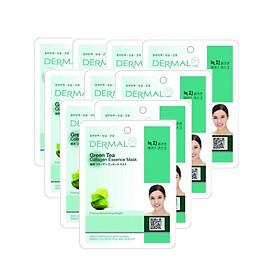 10 Mặt nạ dưỡng da tinh chất trà xanh Dermal