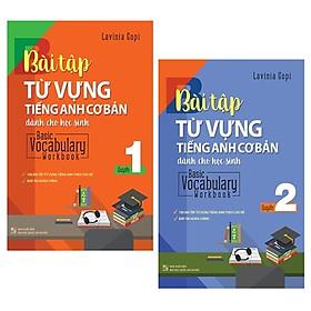 Combo Basic Vocabulary - Workbook Primary / Bài Tập Từ Vựng Tiếng Anh Cơ Bản - Tập 1 Và 2 (Bộ 2 Tập)