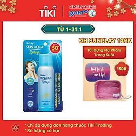 Xịt Chống Nắng Kháng Bụi Sunplay Skin Aqua Anti Pollution Spray SPF50+ Pa++++ 50g