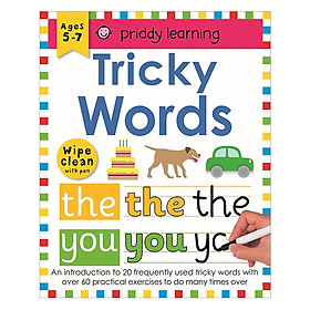 Wipe Clean Workbook Tricky Words