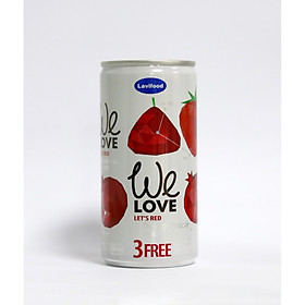 Nước Ép We Love - Let's Red Lon 200ml LaviFood
