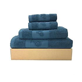 Bộ 4 khăn gia đình cao cấp LN01
