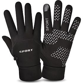 Găng tay nam thể thao ngoài trời đặc biệt mùa thu đông tiện lợi - GT17