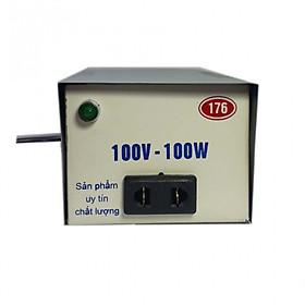 Biến thế đổi điện 220v-100v ,công suất 100w