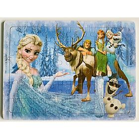 Bộ tranh ghép hình gỗ 60 mảnh chủ đề Công chúa Elsa MK00131