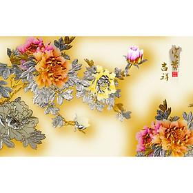 Tranh Treo Hoa Mẫu Đơn - MD058