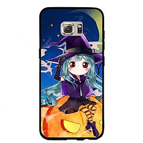 Hình đại diện sản phẩm Ốp lưng Halloween viền TPU cho điện thoại Samsung Galaxy S7 Edge - Mẫu 04