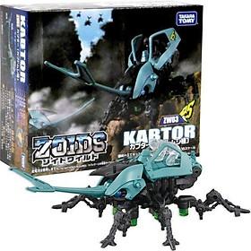 Đồ chơi mô hình Chiến binh thú ZW03 KABTOR ZOIDS 972037