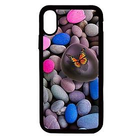 Ốp lưng cho điện thoại Iphone Xs Max Bướm vàng - Hàng chính hãng
