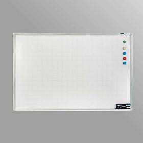 Bảng trắng từ viết bút HQ 100x120cm (Tặng kèm bút, bông lau, nam châm)