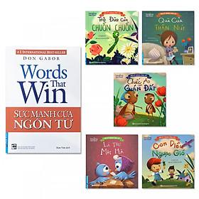Combo sách gia đình: Sức Mạnh Của Ngôn Từ, Bộ truyện Kỹ Năng Ứng Xử Dành Cho Bé (5 tập)