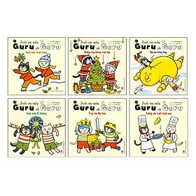 Combo 6 Tập Anh Em Mèo Guru Và Goro