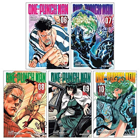 Combo One-Punch Man: Tập 6 + Tập 7 + Tập 8 + Tập 9 + Tập 10 (Tái Bản 2019) (Bộ 5 Tập)