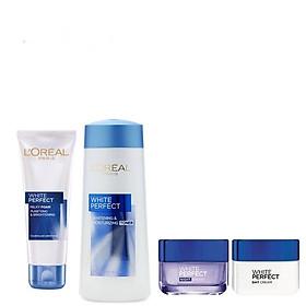 Bộ Sản Phẩm Dưỡng Trắng Da L'Oréal White Perfect