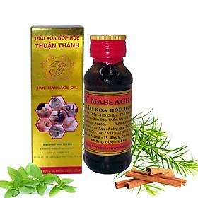 Hộp dầu Xoa bóp Massage Huế - chai 60 ml